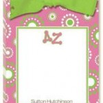 Sorority Circleburst Tear Away Pad with Bow