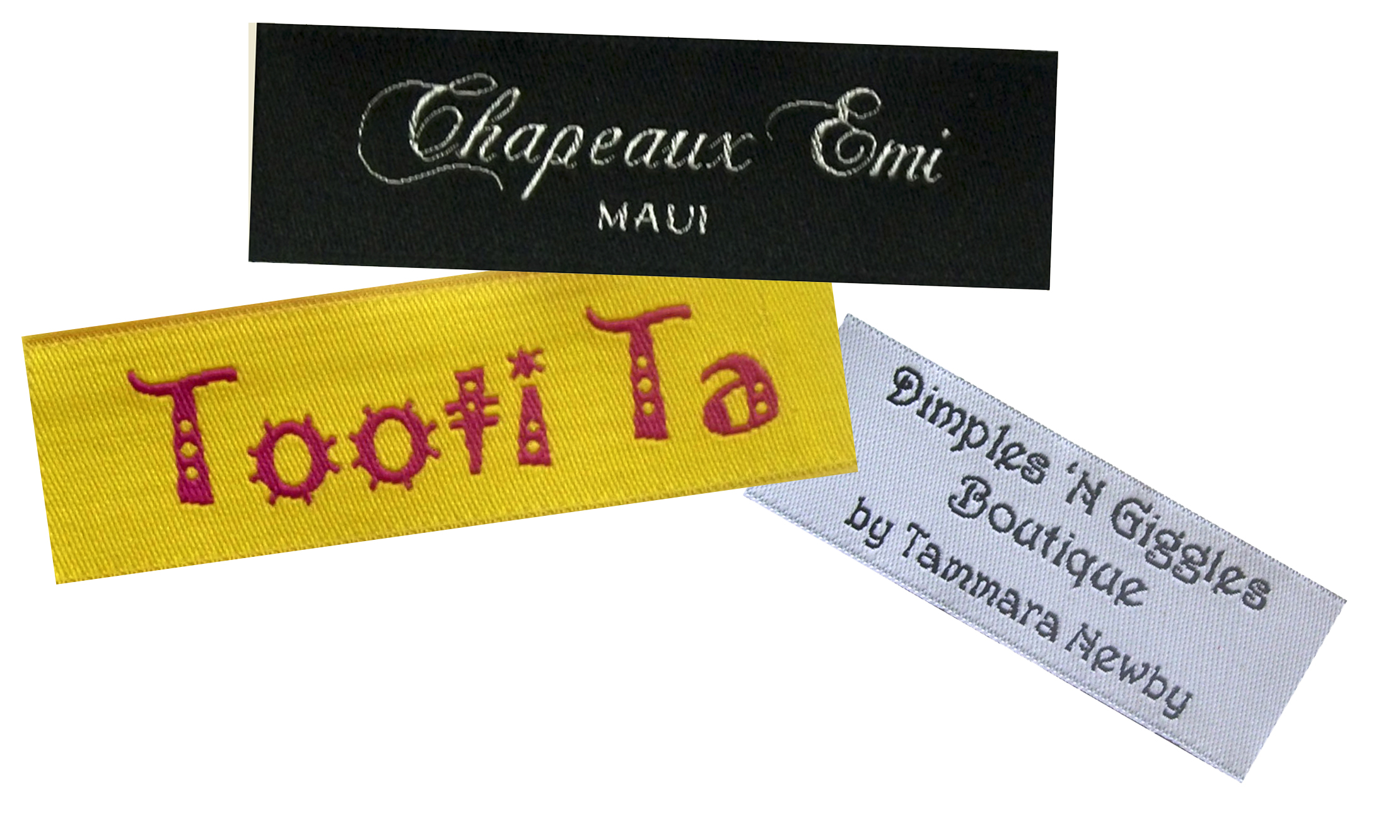 Personalized Fabric Clothing Labels (Semi Custom Labels