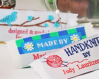 Woven Fabric Clothing Labels