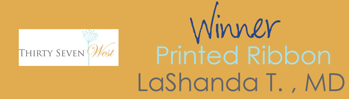 Contest Winner Banner - Ribbon - LaShanda T