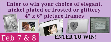 Thirty Seven West February Give-away - Picture Frames