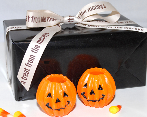 Printed Halloween Ribbon for Gifts
