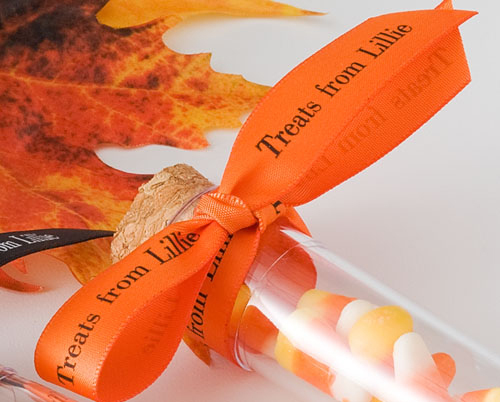 Printed Halloween Ribbon for Treats