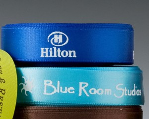 "5/8"" Personalized Logo Ribbon"