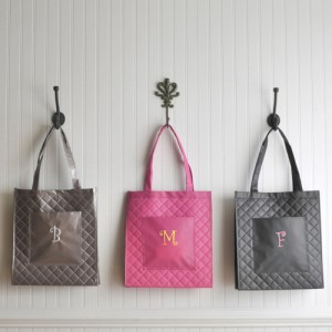 Quilted Shopping Tote