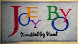 Joey Boy - Custom Woven Damask Label