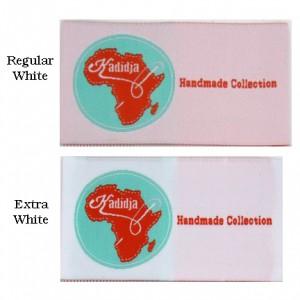 Regular vs Extra White