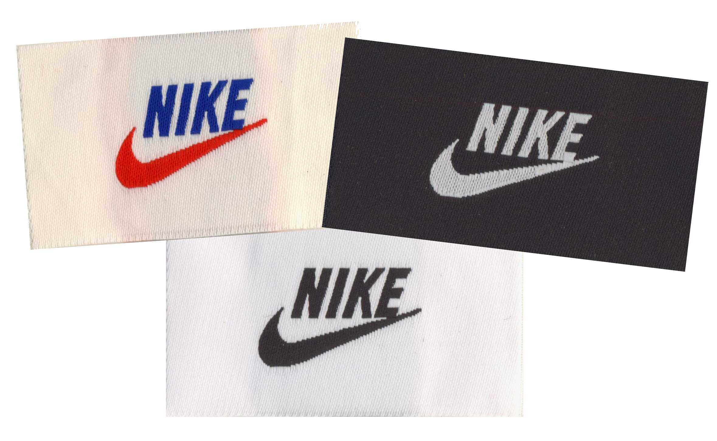 Branding, Custom Woven Labels, Fabric Labels, Fabric Tags, Nike