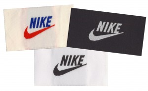 Nike Athletics Custom Woven Labels, Nike, Nike apparel, Custom woven labels, clothing labels, cloth labels, apparel labels, garment labels, custom apparel labels, woven apparel labels,