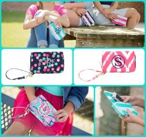 Personalized Wristlets, wristlets, mini bags, polka dot wristlet, paisley wristllet, monogrammed wristlets, personalized wristlet, BLACK FRIDAY SALE