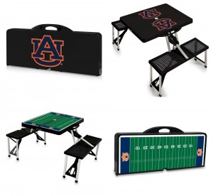Auburn Picnic Tables, picnic tables, portable picnic table, Auburn University