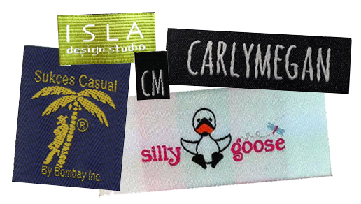 custom woven labels, custom labels, clothing labels, apparel labels, personalized labels, woven labels, logo labels, custom logo labels