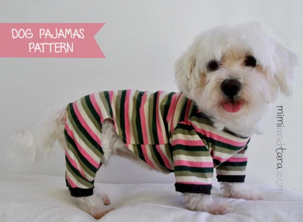 mimi and tara pet pajama pattern, pet pajamas, labels for pet pajamas, labels for dog pajamas, labels for dog clothes, labels for pet clothes, labels for dog leashes, labels for dog collars, pet collars, pet leashes, labels for pet apparel
