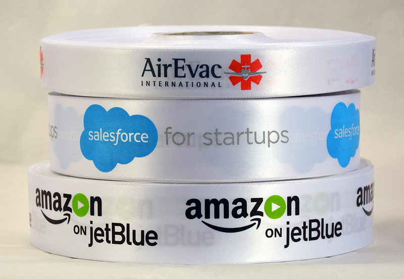 Amazon on JetBlue, Amazon.com, JetBlue Airlines, Logo Ribbon, Personalized Ribbon, Custom Logo Ribbon, Satin Ribbon, Company Ribbon, Ribbon with company logo, multi colored logo ribbon. Corporate Ribbon, Custom Ribbon, Customized Ribbon, Custom Ribbon with Logo, Personalized Ribbon with logo, Multi colored printed ribbons, Customized ribbon with your business logo , decorative ribbon for centerpieces and gifts, Customized printed ribbons with your logo , custom ribbon for unique favors, personalized ribbon for corporate gifts, customized ribbon with logo
