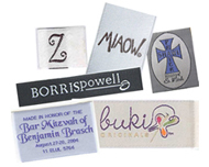 Custom Woven Labels, damask labels, satin labels, taffeta labels, cotton labels, custom labels, customized labels, fabric labels custom fabric labels, customized fabric labels, woven labels, woven fabric labels, custom woven fabric labels, personalized woven labels, personalized fabric labels