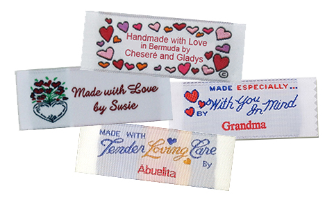 Custom Woven Labels, Custom labels, Clothing labels, custom woven clothing labels, custom clothing labels, fabric labels, fabric tags,  personalized woven labels, personalized fabric labels, personalized labels