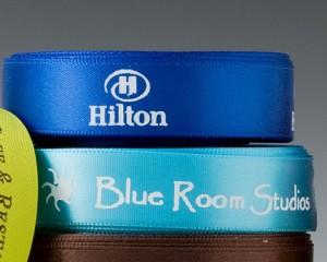 Custom Logo Ribbon, 2 Color printed ribbon, multi color printed ribbon, custom company ribbon wholesale, affordable company ribbon, logo ribbon, company ribbon wholesale, company ribbon, corporate ribbon, personalized ribbon, Branding ribbon,