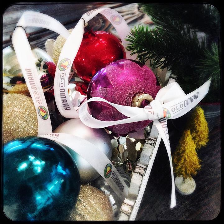 Custom Logo Ribbon Ornament Hangers. Custom Ribbon, Logo Ribbon, Corporate Ribbon, Company Ribbon with logo, Ribbon ornament hanger, personalized ribbon ornament hanger,