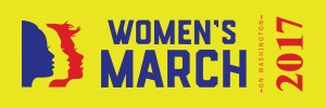 womens-march-on-washington-2017-ribbon million women march womens rights march womens activist march womens lgbtq  washington dc trump march January 21st 2017 1/21/17 planned parenthood womens suffrage colorado state march colorado sister marches navy on gold yellow and red