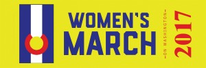 womens-march-on-washington-2017-ribbon million women march womens rights march womens activist march womens lgbtq  washington dc trump march January 21st 2017 1/21/17 planned parenthood womens suffrage  colorado chapter colorado state colorado state sister march aspen sister march colorado springs sister march denver sister march mesa sister march yellow and gold on navy and red