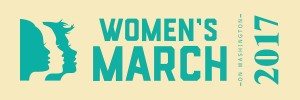 womens-march-on-washington-2017-ribbon million women march womens rights march womens activist march womens lgbtq  washington dc trump march January 21st 2017 1/21/17 planned parenthood womens suffrage green on beige womens march logo