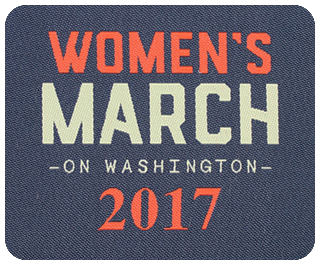WOMEN'S MARCH ON WASHINGTON 2017 patch, WOMEN'S MARCH 2017, FUND RAISER PATCH, Girl Scouts patches badges Women's March 2017