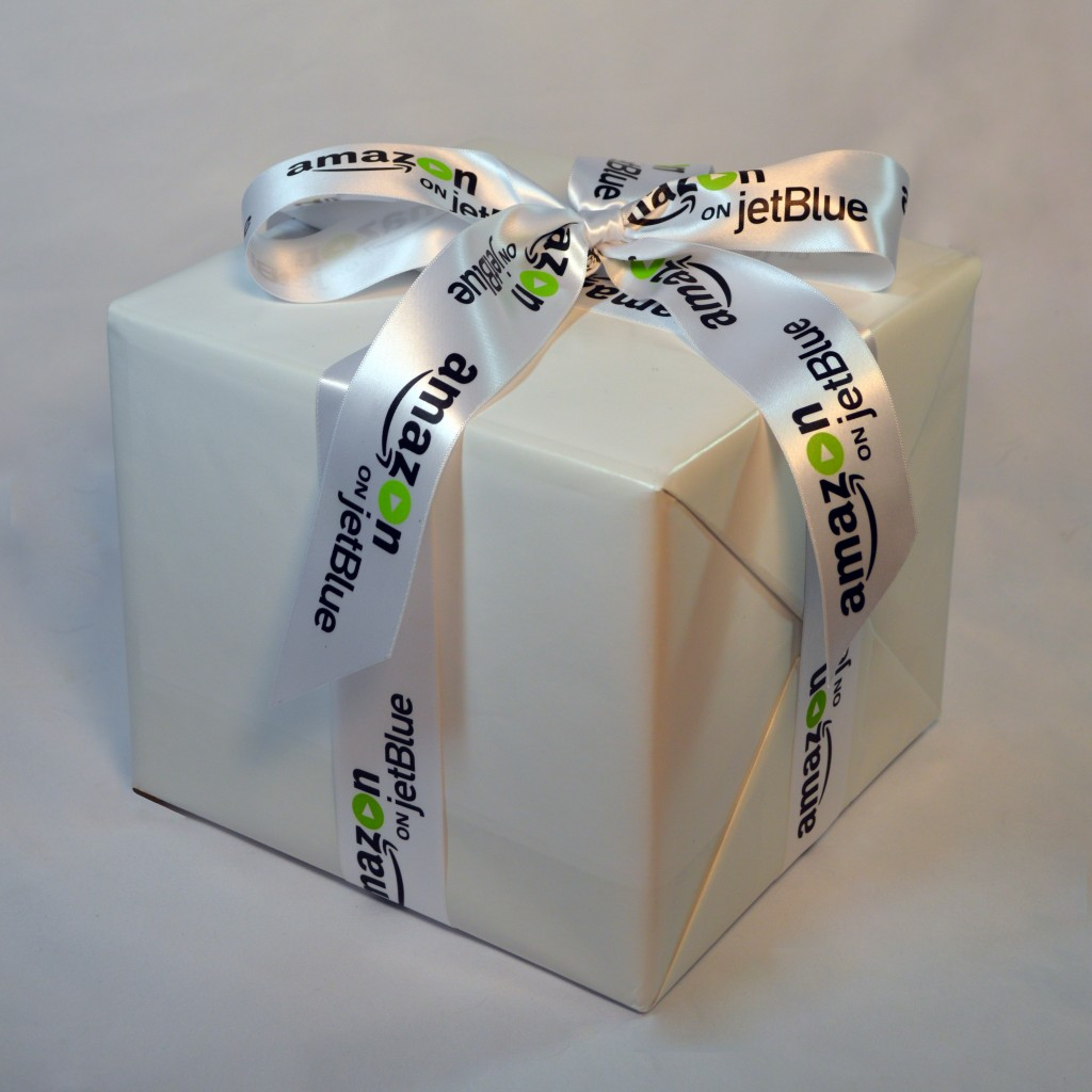 Amazon on JetBlue, Amazon.com, JetBlue Airlines, Logo Ribbon, Personalized Ribbon, Custom Logo Ribbon, Satin Ribbon, Company Ribbon, Ribbon with company logo, multi colored logo ribbon. Corporate Ribbon, Custom Ribbon, Customized Ribbon, Custom Ribbon with Logo, Personalized Ribbon with logo, Multi colored printed ribbons, Customized ribbon with your business logo , decorative ribbon for centerpieces and gifts, Customized printed ribbons with your logo , custom ribbon for unique favors, personalized ribbon for corporate gifts, customized ribbon with logo, custom printed ribbons
