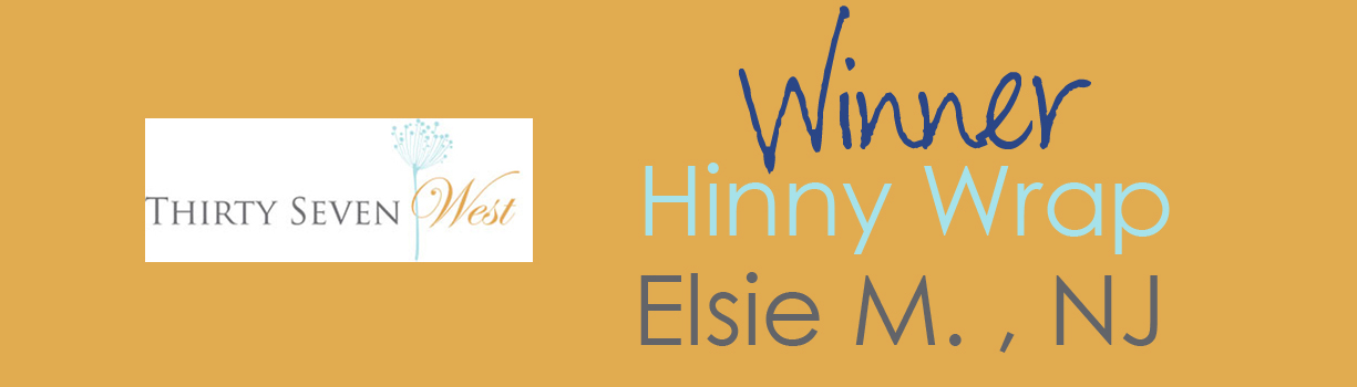 Thirty Seven West Hinny Wrap Contest Winner