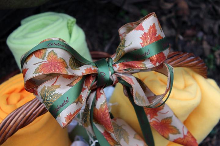 Personalized Printed Harvest Ribbon