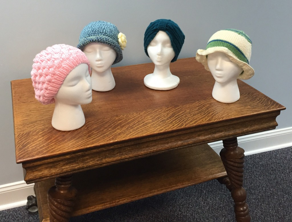 Handmade Chemo Caps, Handmade Chemo Hats, Handmade hats, handmade caps, knitted hats, knitted caps, crocheted hats, crocheted caps, personalized woven labels, custom woven labels, Prayer shawl labels, prayer shawls, Prayer shawl ministries