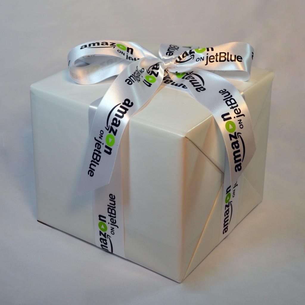 Amazon on JetBlue, Amazon.com, JetBlue Airlines, Logo Ribbon, Personalized Ribbon, Custom Logo Ribbon, Satin Ribbon, Company Ribbon, Ribbon with company logo, multi colored logo ribbon. Corporate Ribbon, Custom Ribbon, Customized Ribbon, Custom Ribbon with Logo, Personalized Ribbon with logo, Multi colored printed ribbons, Customized ribbon with your business logo , decorative ribbon for centerpieces and gifts, Customized printed ribbons with your logo , custom ribbon for unique favors, personalized ribbon for corporate gifts, customized ribbon with logo, custom printed ribbons